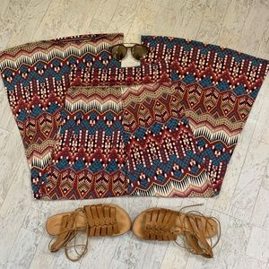 Moa bell bottom/palazzo pants-L (fits more like M)